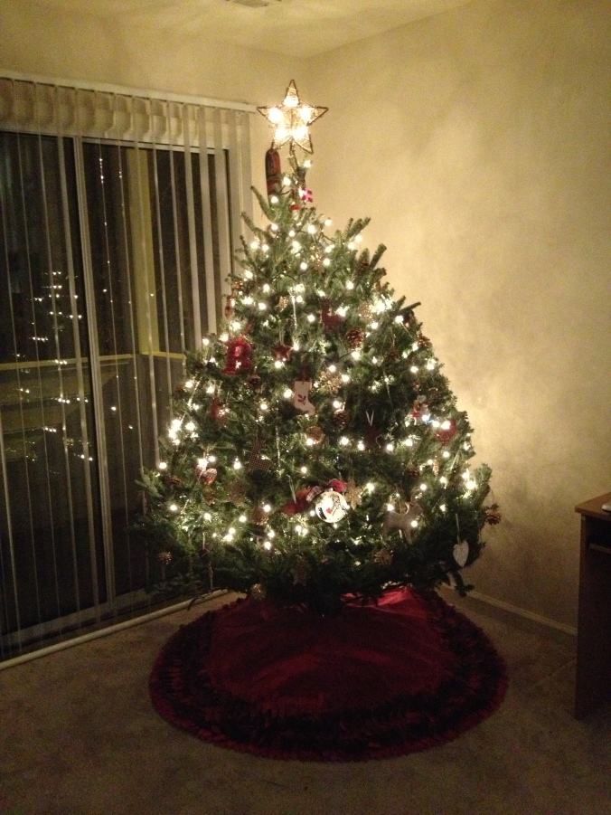 Percy the Mighty Christmas Tree
