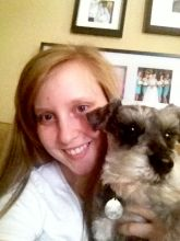 Me and the pups. Obsessed with this furball.