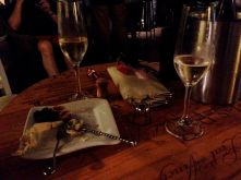Prosecco date with my pal, Sarah